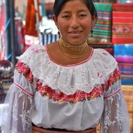 Ecuadorian Merchant in Sante Fe