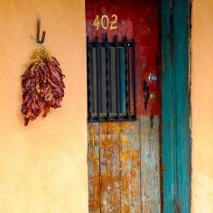 chili pepper door