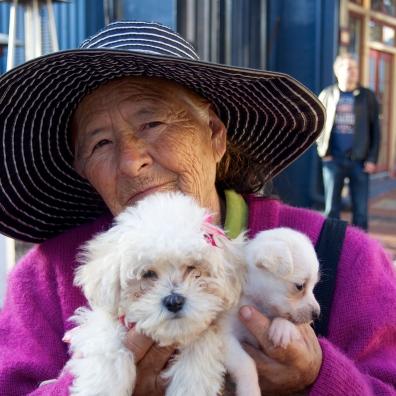 Puppy Lady in San Diego