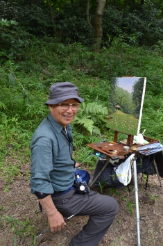 Meiji Jingu Painter #Japan
