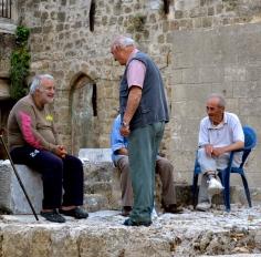 Gentlemans' Banter in Rhodes Island #Greece