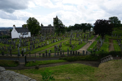 Graveyard near Stirling Castle