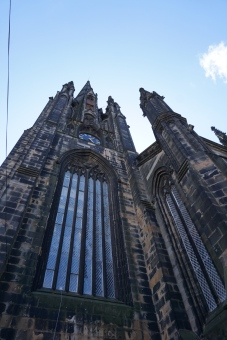 Random gothic building in Edinburgh