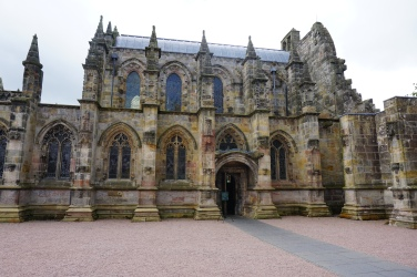 Rosslyn Chapel--side view