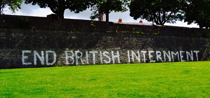 Wall in Derry