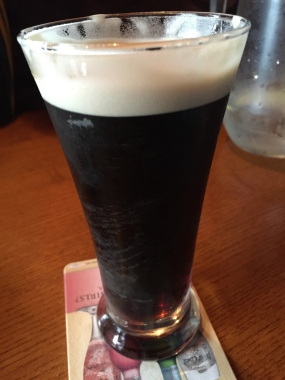 My first genuine Guinness