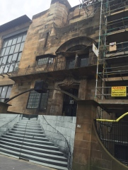 Glasgow School of Art: The ONE thing I wanted to see in Glasgow...still closed